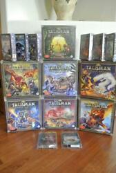 Talisman Board Game Painted Minis Nether Deep Realm Dungeon Dragon City Highland