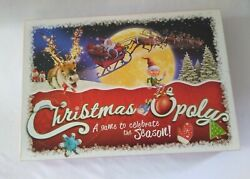 Christmas-opoly A Game To Celebrate The Season -monopoly Board Game