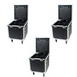 3 Tour Road Cases 22 - Stackable Wheel Pockets - 2 Dividers And 1 Tray By Osp