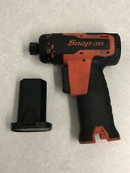 Snap On 1/4 Drive Cordless Screwdriver Cts6610 And 7.2v Battery Ctb6172
