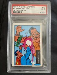1968 A And Bc Superman Victory At Last In The Jungle Psa 7