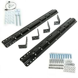 30035 5th Fifth Wheel Mounting Rail Kit Trailer Hitch Mount Fit Reese Pro Series
