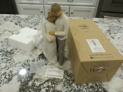 Willow Tree Home By Susan Lordi 26252 Figurine Pregnant Mom And Dad New/box