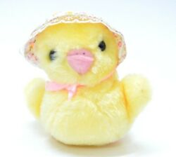 Vintage Chick Plush 1987 Animal Toys Stuffed Easter Yellow Collectible 4.5