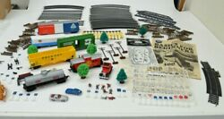 Vintage Train Set Life Like Card Accessories Pamphlet Collectible Scenery