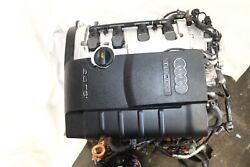 2005-2009 Audi A4 Bpg 2.0l 4 Cyl Turbo Engine Motor With Harness P758