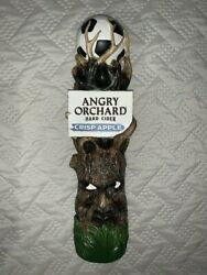 Rare Tap Handle Angry Orchard Soccer Crisp Apple Brand New