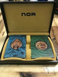 Vintage Lord Nor Deck Playing Card Set In Case Northbrook Pinochle