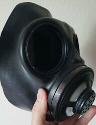 Black-out Replacement Lenses For Canadian C-3 Gas Mask Cosplay