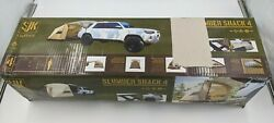 Slumberjack Shack 4 Person Stand Alone Or Vehicle Based Car Shelter Camping Tent