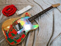 Fender Jimmy Page Telecaster / Dragon Paint Used Electric Guitar