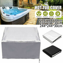 Tub Spa Cover Cap Guard Waterproof Dust Protector Harsh Weather 5 Sizes C