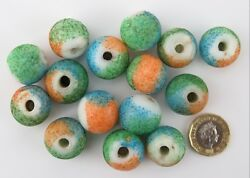 Loose Glass Trade Beads From North Indian / China.