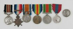 A Great War Military Medal Group. Old Contemptible. Western Front. Ism