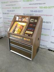 Rowe Ami Cd51 Color Jukebox- Includes 51 Cds And Bluetooth Audio
