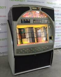Rowe Ami Cd100c Color Jukebox- Includes 100 Cds And Bluetooth Audio