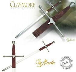 Braveheart Claymore Movie Sword Of William Wallace - From Marto Of Spain.