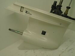 Used Johnson Evinrude Outboard Lower Unit/gearcase Omc 20 150 175 Hp 60anddeg Engine