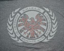 Loot Crate Wear Marvel Agents Of Shield Academy Science Technology T-shirt