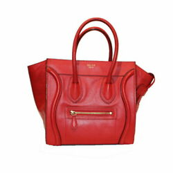 Celine Luggage Micro Shopper 167793 Women And039s Secondhand _13735