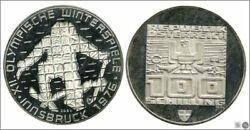 Austria - Coins Circulation- Year 1978 - Number Km02941 - Proof 100 Schilling