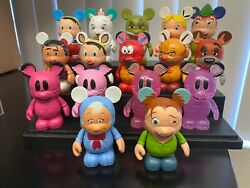 Disney Animation Series 1 Vinylmation Set Of 10 Variant And Chaser