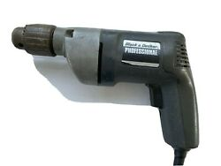 Black And Decker Professional 1311/100 1/2 Drill 0-600 Rpm Vintage Power Tool