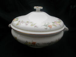 Wedgwood Mirabelle Covered Vegetable Dish. Leigh Shape