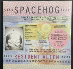 Spacehog Resident Alien Limited Edition Pink Double Vinyl New 2021 In Habd