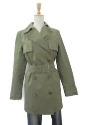 Celine Cotton 100 Belt With Trench Coat Secondhand _14183
