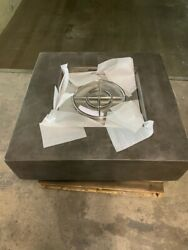 High End Concrete Square Fire Table - Fire Pit - Fire Feature