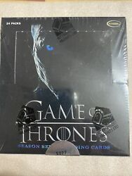 Game Of Thrones Season 7 Factory Sealed Trading Card Box. 24 Packs. Min 2 Autoandrsquos