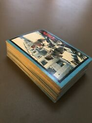 1979 Donruss Chips Tv Show Complete 66 Trading Card Set. Ex-nm + Box And Wrappers