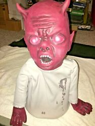 Halloween Prop 2009 Zombie Baby Lil Luci. Rare. Non Working, For Parts. Read.