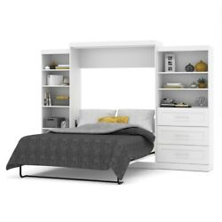 Pur 126 Queen Wall Bed Kit In White