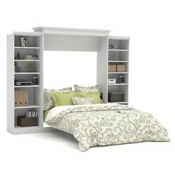 Versatile 115' Queen Wall Bed Kit In White