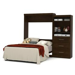 Pur 101 Queen Wall Bed Kit In Chocolate
