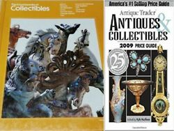 2 Books Antiques And Collectibles  2009 Price Guide And Encyclopedia Collectables