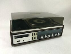 Rca Vm6025w Stereo 8 Track Radio Turntable Record Player