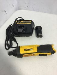 Dewalt Dcf682 Lithium-ion Gyroscopic Cordless Screwdriver W/battery And Charger