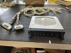 Gma340 Audio Panel With Complete Wiring Harness And Rack And Backplate