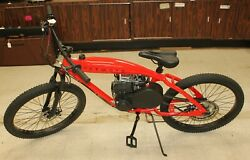 Phatmoto Rover Red Motorized Bicycle 2020 No Shipping Pick Up Only