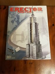 Erector Empire State Building Special Edition Set 0511 961 Parts - Factory Seal