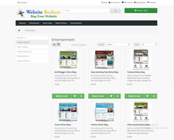 Ecommerce Website-selling Ready Made Niche Blog Websites 30 Scripts Included