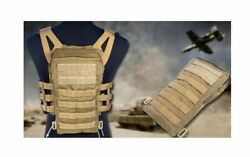 Flyye Molle Swift Plate Carrier Rapid Response Tactical V-est Hydration Backpack
