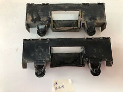 Tonka T-9 Dozer Middle Roller Fit In Cover Pair For Parts