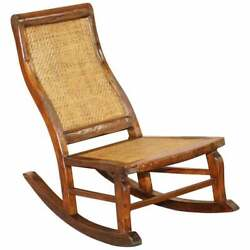 Small Childrenand039s Antique Rocking Chair Ideal For Children Upto 6 Years Old