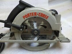 Porter Cable Model 347 Mag Type-2 7-1/4 Heavy Duty Right Hand Circular Saw