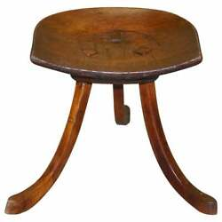 Fully Restored Liberty's London Thebes Stool L Wyburd Original Antique Victorian
