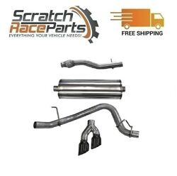 Corsa Cat-back Exhaust System Dual Side Exit For 15-20 Chevy/gmc 304 Ss 14748blk